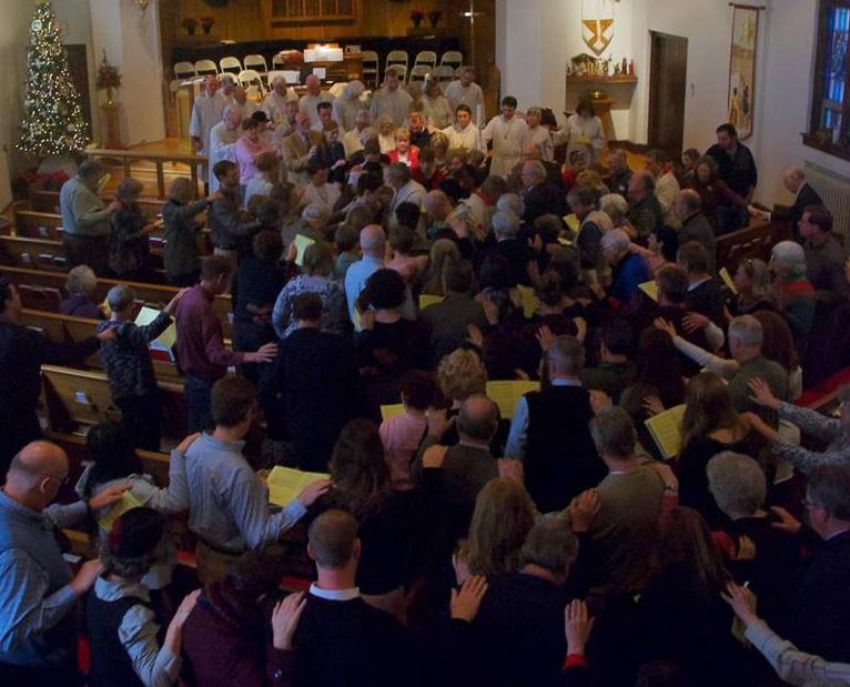 Worship St Marks Lutheran Asheville Downtown